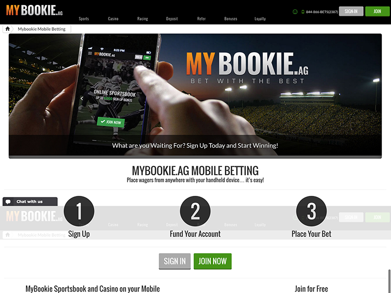 How to place a bet on mybookie binary options trading signals tips